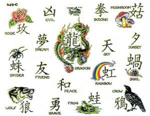 иероглифических надписей