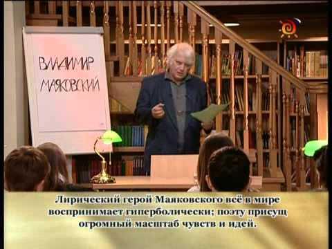 Маяковский. Творчество дооктябрьского периода